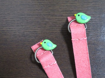 ピンクバンド緑の小鳥.jpg